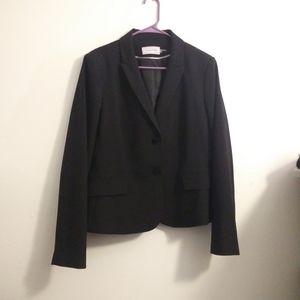 Calvin Klein black suit jacket blazer